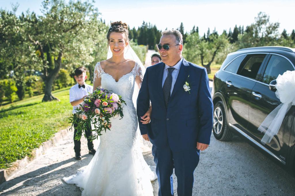 outdoor wedding in villa il petriccio montespertoli florence