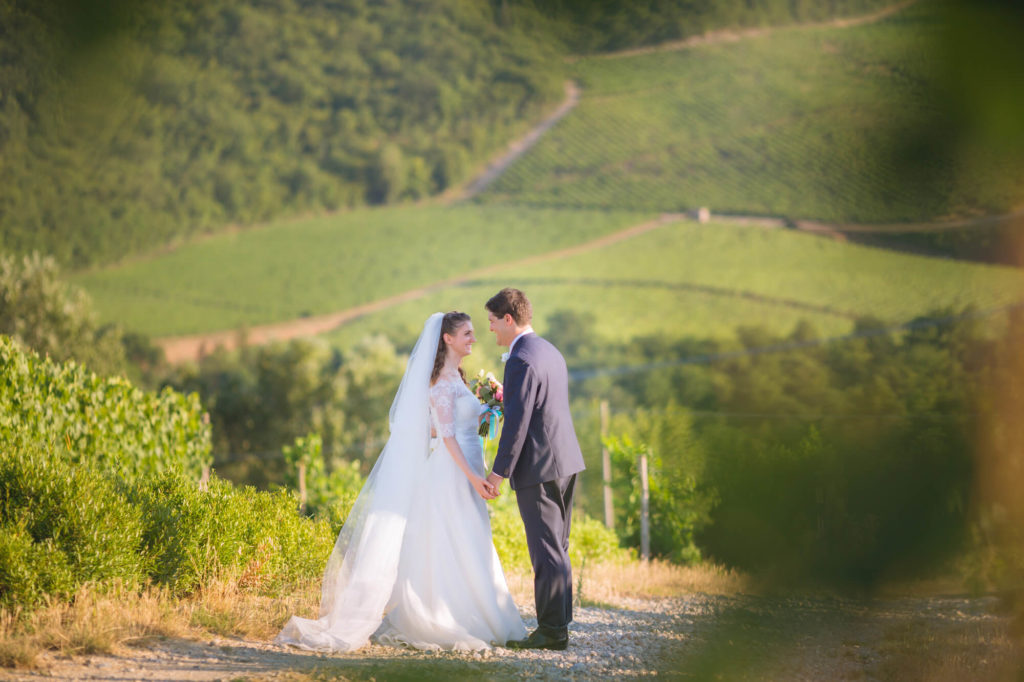 outdoor wedding videomaking in castello vicchiomaggio greve in chianti florence